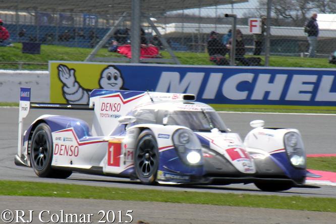 Toyota TS040 Hybrid, Davidson / Buemi / Nakajima, 6 Hours Of Silverstone