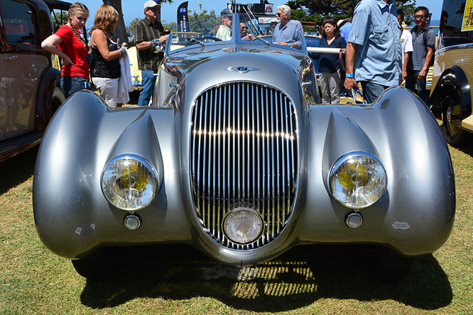 Bentley 4 1/4 litre Roadster, La Jolla Concours d'Elegance,