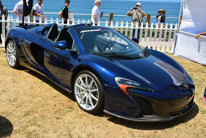 McLaren 650S Spider, La Jolla Concours d'Elegance,