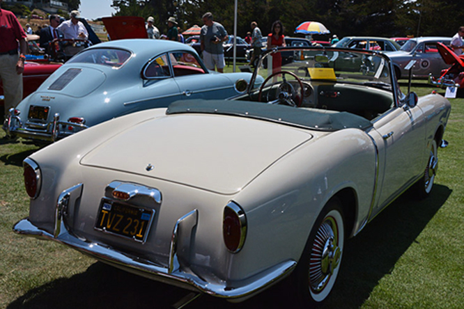 FIAT 1200 TV Transformabile, Hillsborough Concours d'Elegance,