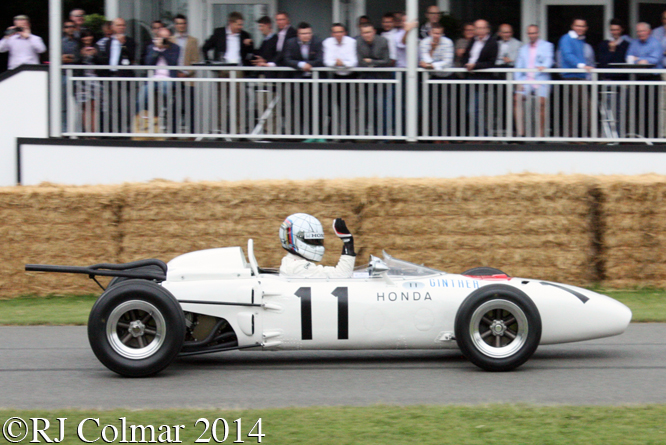 Honda RA272, Gabriele Tarquini, Goodwood Festival of Speed