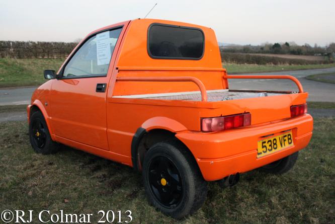 Fiat Cinquecento Flatbed, Upton-upon-Severn, Worcestershire,