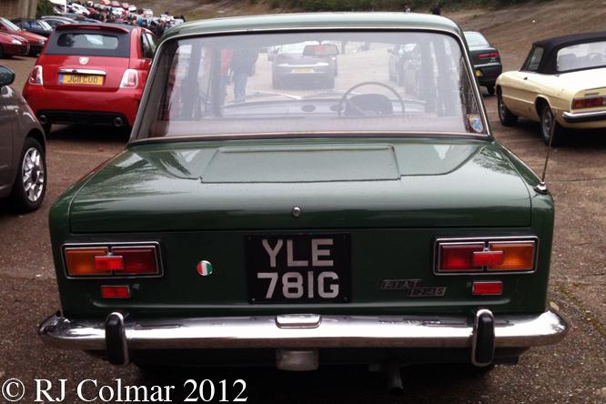 FIAT 124 S, Auto Italia, Brooklands,