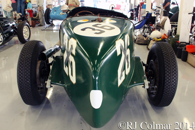 Rigling Buick, Silverstone Classic,
