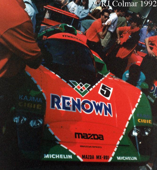 Mazda MX-R01, Le Mans