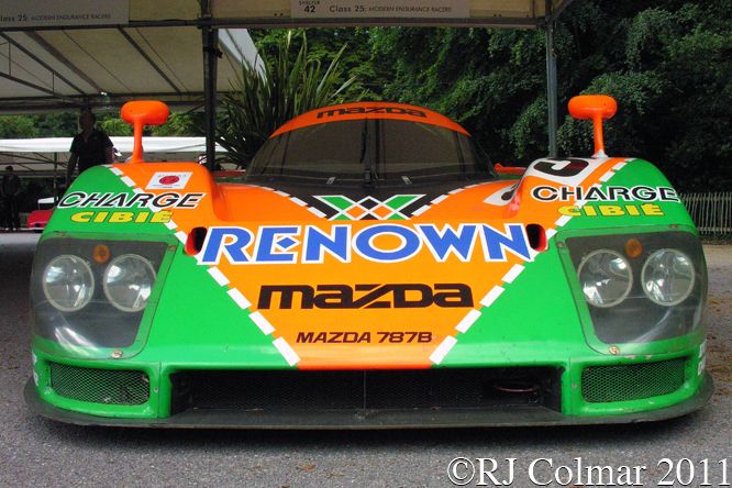 Mazda 787B, Goodwood Festival of Speed,