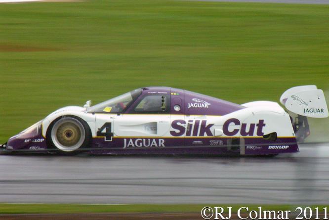 Jaguar XJR-11, Gary Pearson, Silverstone Classic,