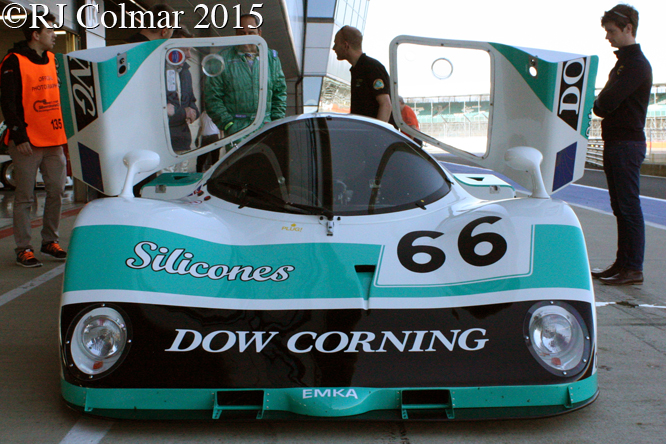 EMKA C84/1, Silverstone Classic Test Day,