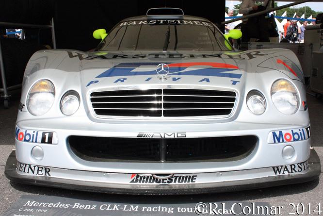 Mercedes Benz CLK-GTR, Goodwood Festival of Speed,