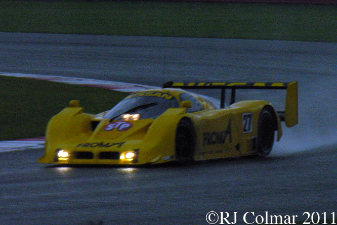 Nissan RC90, Steve Tandy, Silverstone Classic,