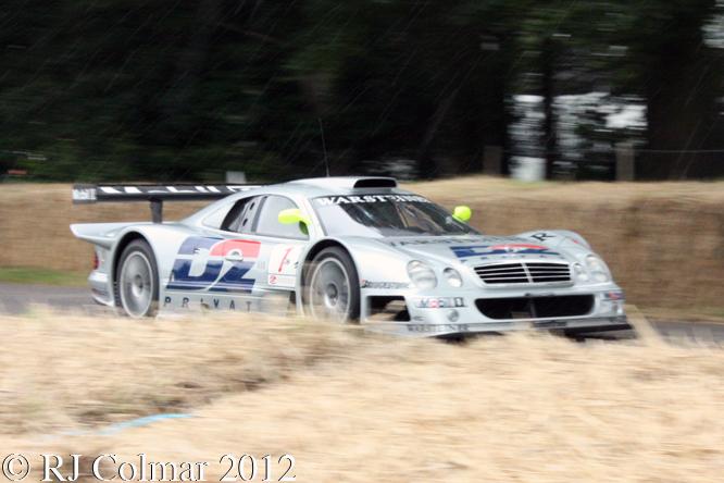 Mercedes Benz CLK-GTR, Klaus Ludwig, Goodwood Festival of Speed,