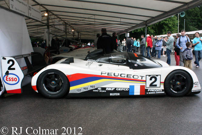 Peugeot 905 Evo 1 Bis LM, Goodwood, Festival of Speed,