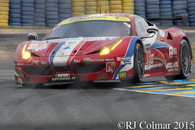 Ferrari 458 Italia GT2, François Perrodo, Emmanuel Collard, Rui Águas, Le Mans