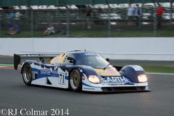 Courage C26S, Georg Kjallgren, Silverstone Classic