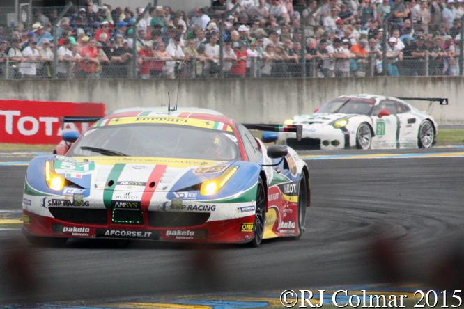 Ferrari 458 Italia GT2, Gianmaria Bruni, Giancarlo Fisichella, Toni Vilander, Le Mans,