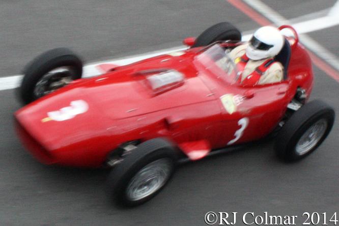 Ferrari 246 Dino, Tony Smith, Silverstone Classic,