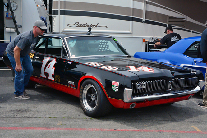 Mercury Cougar XR7, Ike Keeler, Sonoma Historic Motorsports Festival,