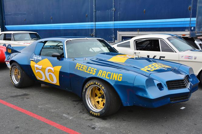 Chevrolet Camaro, John Hildebrand, Sonoma Historic