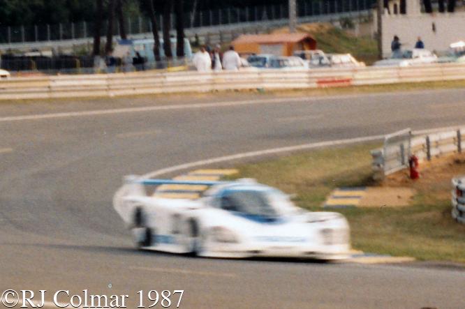 #202 Mazda 757, David Kennedy, Mark Galvin, Pierre Dieudonné, 24 Heures du Mans, Le Mans,