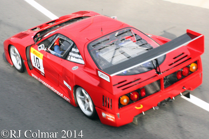 Ferrari F40 LM, Stefano Sebastiani, Silverstone Classic,
