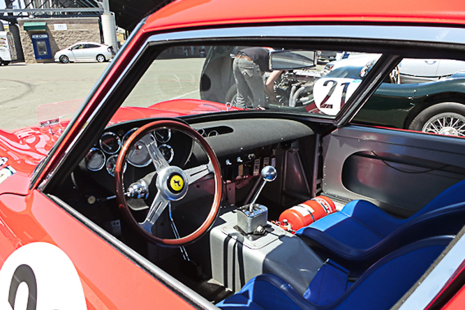 Ferrari 250 GTO, Sonoma Historics,