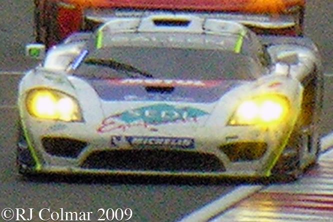 Saleen S7-R, Sébastien Dumez, Roland Bervillé, Laurent Groppi, Silverstone 1000 Kms,