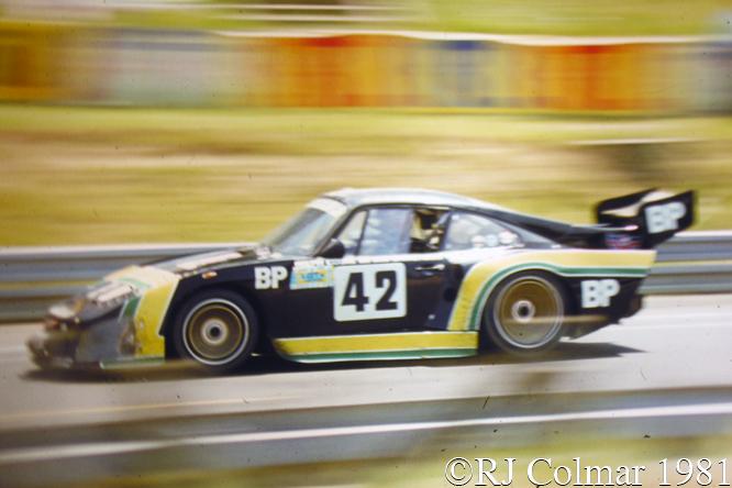 Porsche 935 K3/80, Verney, Kent-Cooke, Garretson, Le Mans
