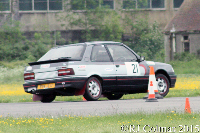 Peugeot 309 GTi, Ray Sissins, Hullavington Wessex Sprint