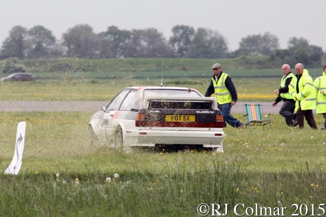 Audi Quattro, Andy Trayner, Hullavington Wessex Sprint