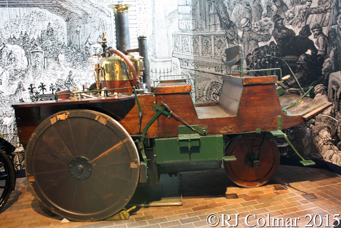 Grenville Steam Carriage, National Motor Museum Beaulieu