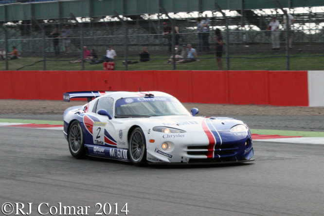 Chrysler Viper GTS-R, Oliver Bouquet, Silverstone Classic,