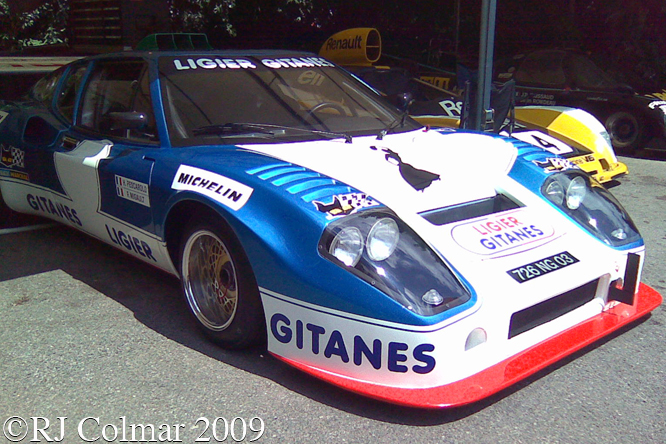 Ligier JS2, Goodwood, Festival of Speed,