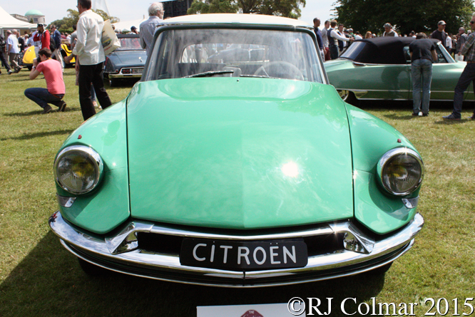 Citroën DS19, Goodwood Festival of Speed,