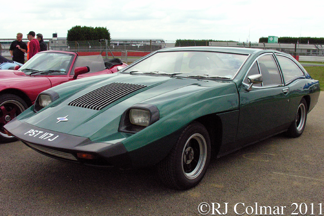 Marcos Mantis M70, Silverstone Classic,