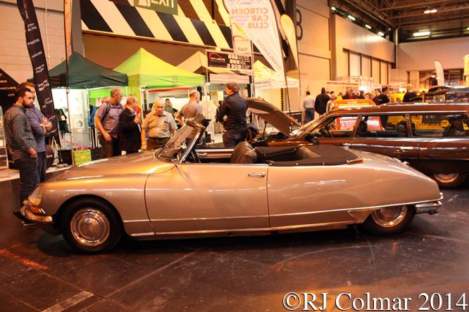 Citroën DS20 Cabriolet d'Usine, Classic Motor Show, NEC, Birmingham