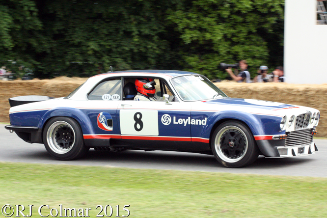 Jaguar XJ12C, Andy Rouse, Goodwood Festival Of Speed,