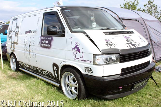 Volkswagen Transporter Caravelle, Volksfest, Easter Compton,