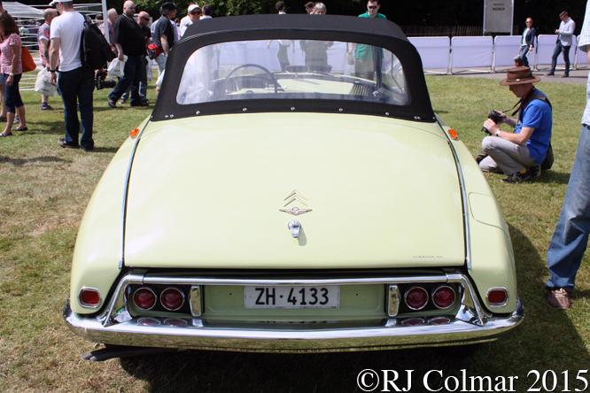 Citroën DS 19 La Croisette Decapotable, Goodwood Festival of Speed,