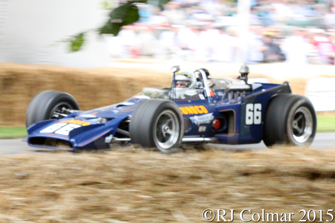 Lola Ford T153, Richard Hamlin, Goodwood Festival Of Speed