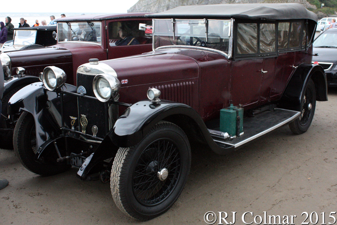 Sunbeam 3 litre, Pendine Sands
