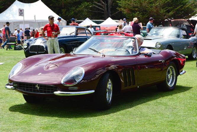 Ferrari 250 GT SWB Nembo Spyder, Hillsborough Concours d'Elegance