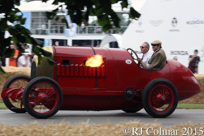 FIAT S76, Duncan Pittaway, Goodwood Festival Of Speed,