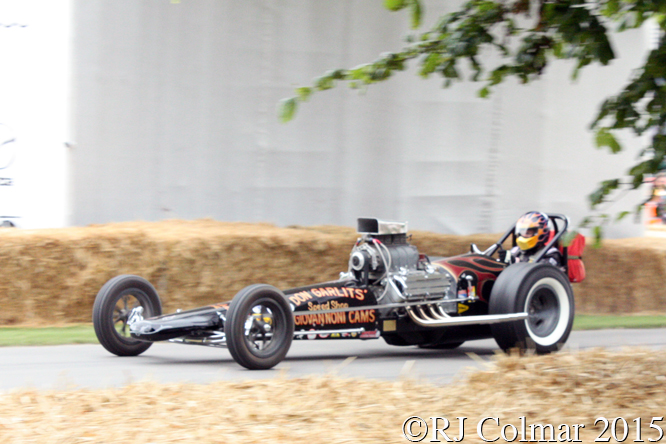 Swamp Rat 1, Don Garlits, Goodwood Festival of Speed,