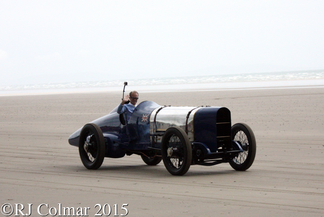 Blue Bird Sunbeam 350hp, Don Wales, Pendine Sands