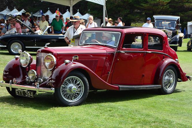 Bentley 4 1/4 Sports Saloon, Hillsborough Concours d'Elegance