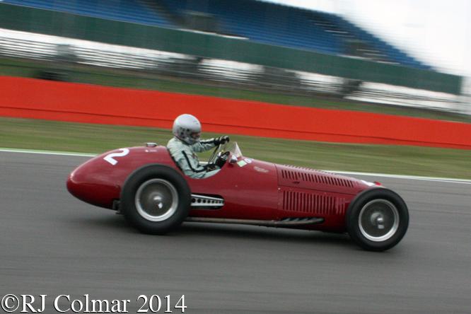OSCA G4500, Stephan Rettenmaier, Silverstone Classic,