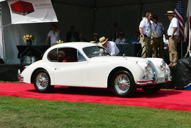 Jaguar XK140 FHC, Hillsborough Concours d'Elegance