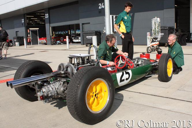 Lotus 25, Silverstone Classic,