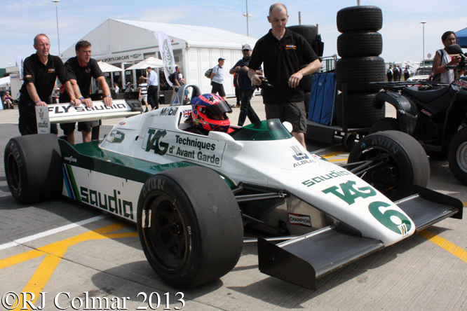Williams FW 08, Richard Eyre, Silverstone Classic,