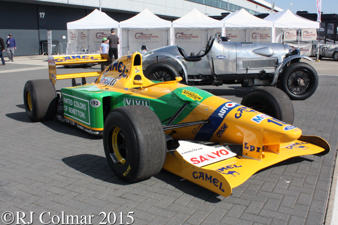 Benetton B192, Silverstone Classic,
